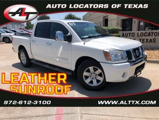 2005 Nissan Titan LE with LEATHER and SUNROOF in Plano, TX 75093