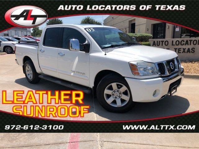 2005 Nissan Titan LE with LEATHER and SUNROOF