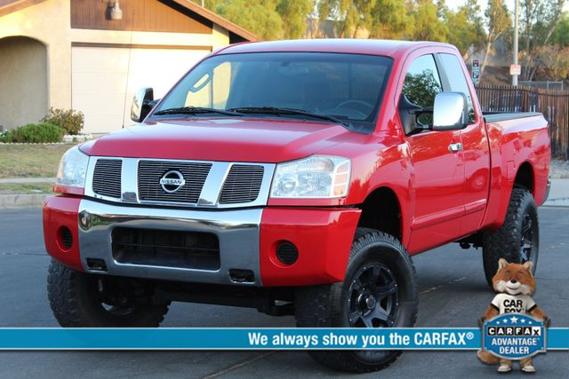 2005 Nissan TITAN SE 4WD ONLY 40K ORIGINAL MLS 1-OWNER AUTOMATIC A/C