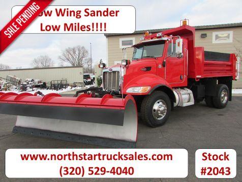 2005 Peterbilt 335 Plow/Dump Truck with Sander  in St Cloud, MN