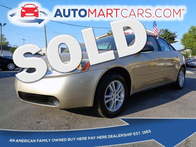 2005 Pontiac G6  | Nashville, Tennessee | Auto Mart Used Cars Inc. in Nashville Tennessee