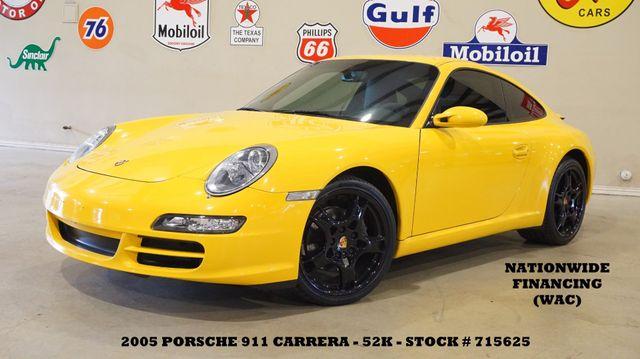2005 Porsche 911 Carrera 997 Coupe 6 SPD,SUNROOF,LEATHER,BOSE,52K