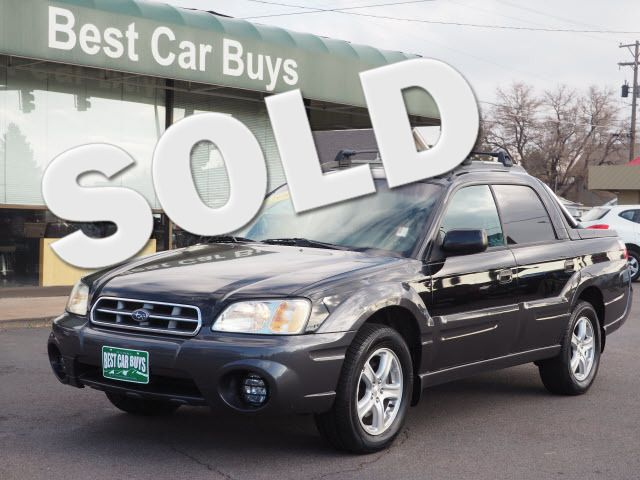 2005 Subaru Baja Sport Englewood, CO