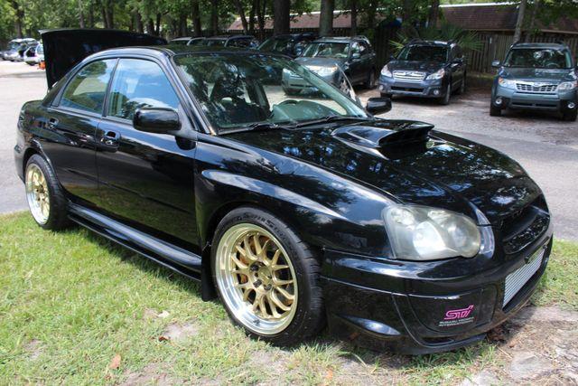 2005 Subaru Impreza WRX STi w/Gold Wheels
