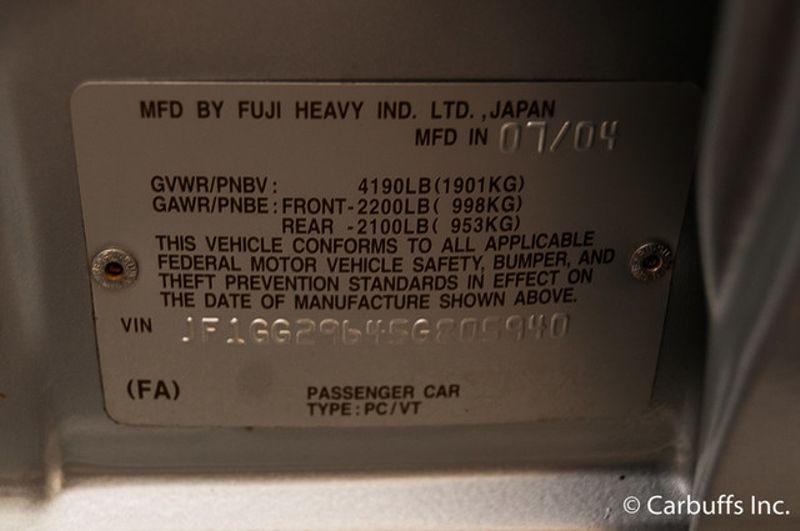 2005 Subaru Impreza WRX   Concord, CA   Carbuffs in Concord, CA