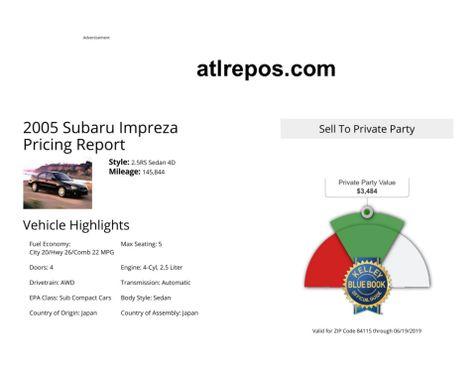 2005 Subaru Impreza RS in Salt Lake City, UT
