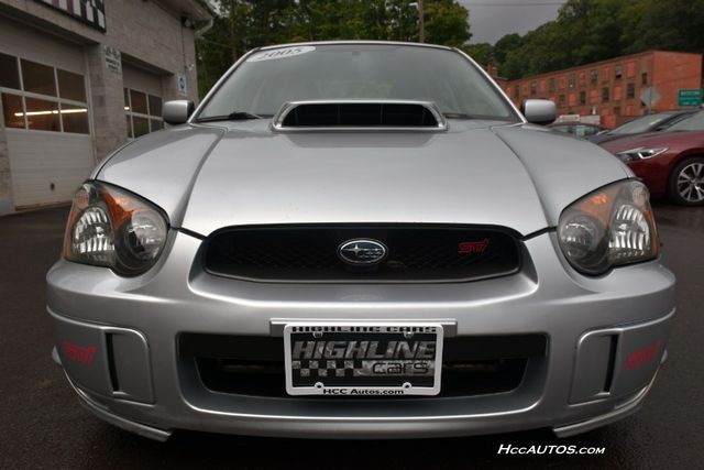 2005 Subaru Impreza WRX STi w/Silver Wheels Waterbury, Connecticut 10