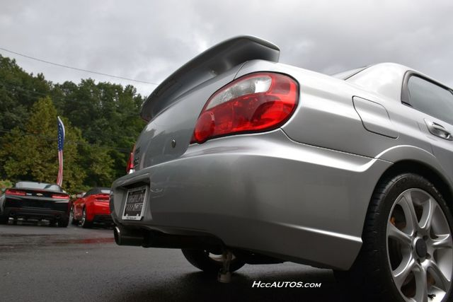 2005 Subaru Impreza WRX STi w/Silver Wheels Waterbury, Connecticut 12