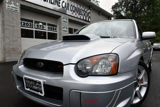 2005 Subaru Impreza WRX STi w/Silver Wheels Waterbury, Connecticut 3
