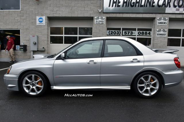 2005 Subaru Impreza WRX STi w/Silver Wheels Waterbury, Connecticut 4