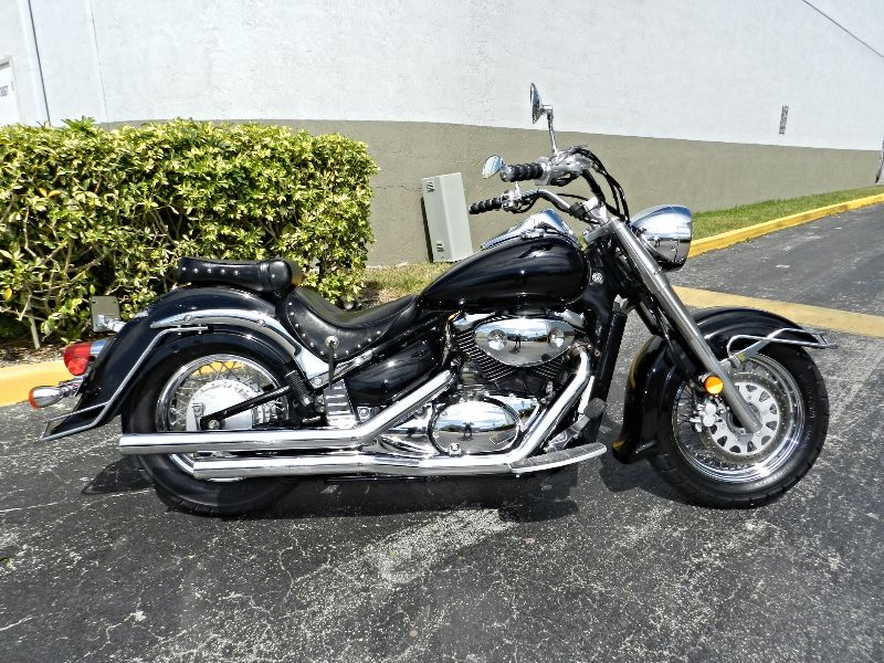 2005 Suzuki Boulevard C50 VL800L8 EXCELLENT CONDITION MUST SEE  30 DAY WARRANTY  city Florida  MC Cycles  in Hollywood, Florida