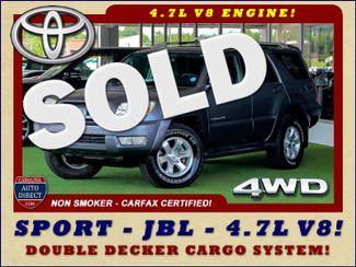 2005 Toyota 4Runner SR5 Sport 4WD- JBL SOUND - CARGO SYSTEM - 4.7L V8! Mooresville , NC