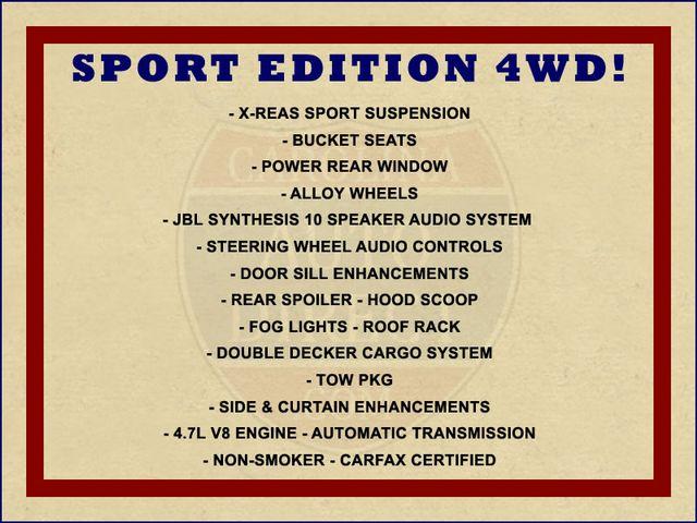 2005 Toyota 4Runner SR5 Sport 4WD- JBL SOUND - CARGO SYSTEM - 4.7L V8! Mooresville , NC 1