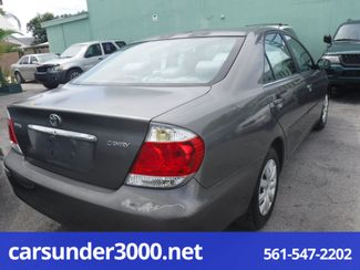2005 Toyota Camry LE Lake Worth , Florida 2