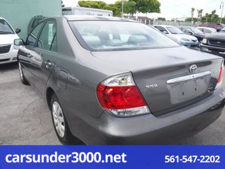 2005 Toyota Camry LE Lake Worth , Florida 3