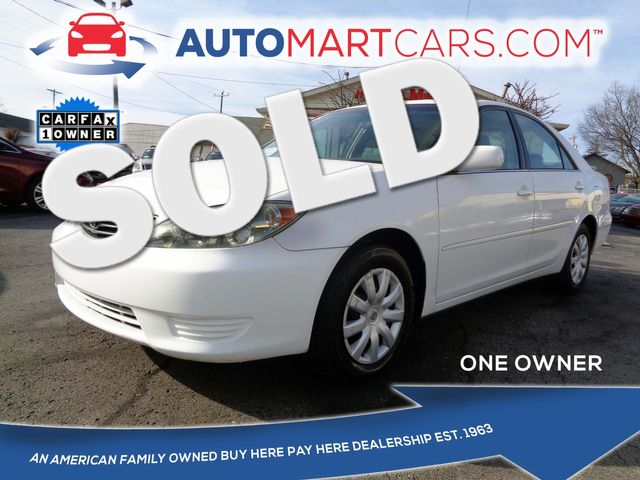 2005 Toyota Camry SE | Nashville, Tennessee | Auto Mart Used Cars Inc. in Nashville Tennessee