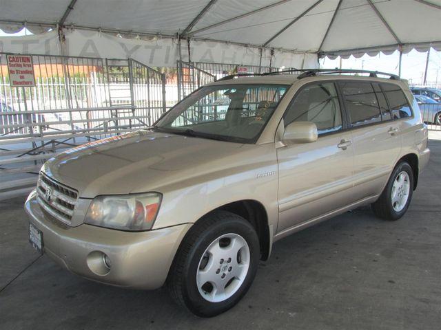2005 Toyota Highlander Gardena, California