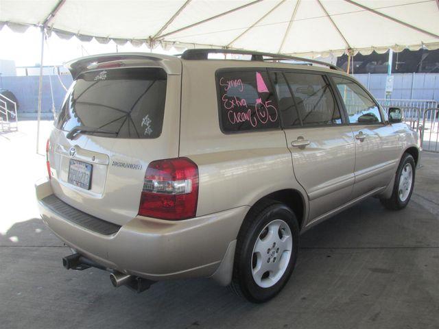 2005 Toyota Highlander Gardena, California 2