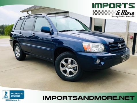 2005 Toyota Highlander V6 3rd ROW in Lenoir City, TN