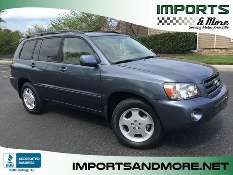 2005 Toyota Highlander Limited V6 4wd  in Lenoir City, TN
