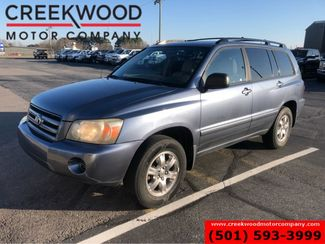 2005 Toyota Highlander 4x4 V6 Automatic Sunroof New Tires Cloth 3rd Row in Searcy, AR 72143