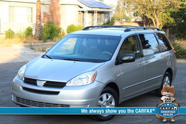 2005 Toyota SIENNA LE DVD AUTOMATIC 1-OWNER SERVICE RECORDS