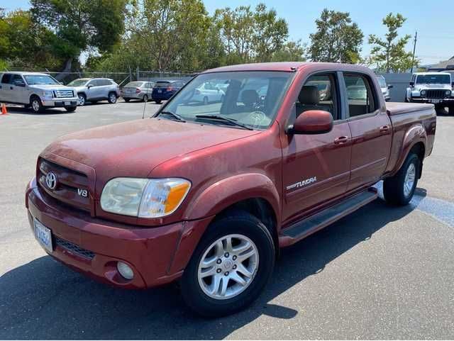 2005 Toyota Tundra LIMITED 4 DOOR CREW CAB FULL SIZE TRUCK W/ Tonneau Cover, Leather, XM Radio, Running Boards