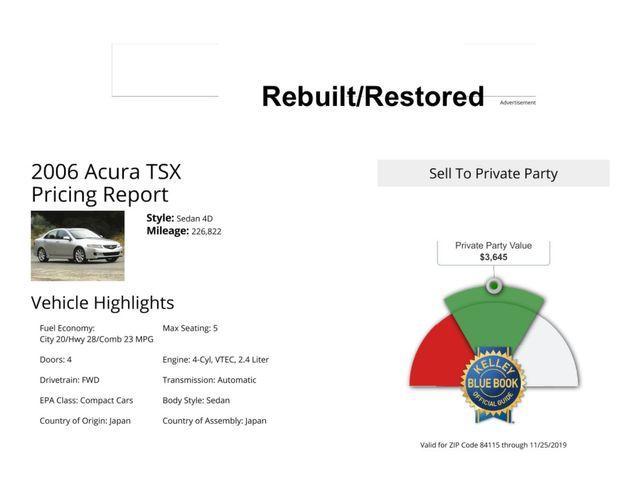 2006 Acura TSX Salt Lake City, UT