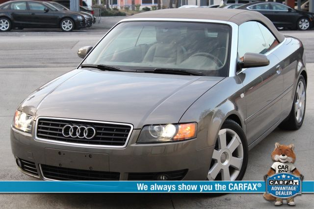 2006 Audi A4 1.8T CONVERTIBLE 50K MLS SERVICE RECORDS AVAILABLE