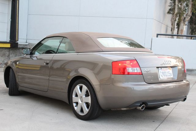 2006 Audi A4 1.8T CONVERTIBLE 50K MLS SERVICE RECORDS AVAILABLE in Woodland Hills, CA 91367