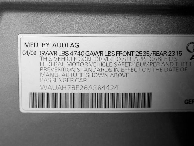 2006 Audi A4 3.2L Burbank, CA 25