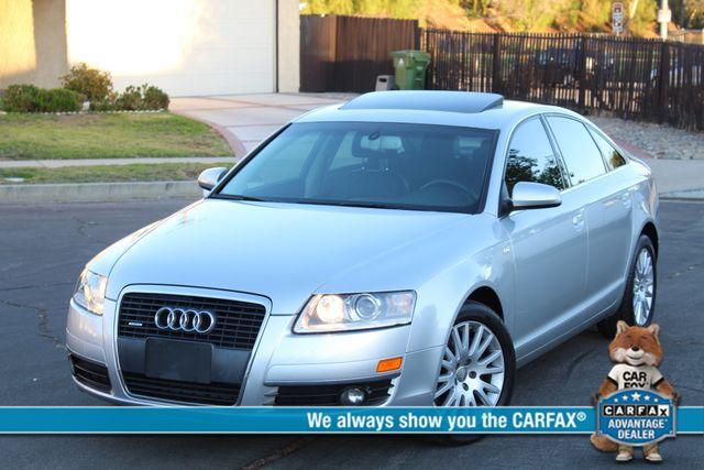 2006 Audi A6 3.2L NAVIGATION NEW TIRES SERVICE RECORDS