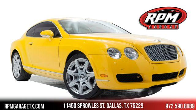 2006 Bentley Continental GT in Rare Monaco Yellow in Dallas, TX 75229