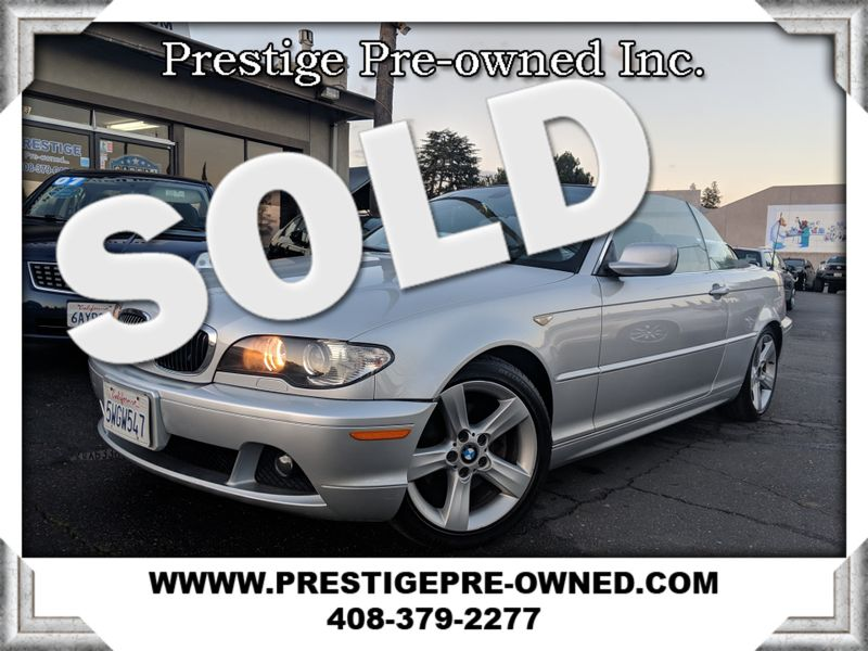 2006 BMW 325Ci ((**PREMIUM/HEATED FRONT SEATS/LEATHER/LOADED**))  in Campbell CA