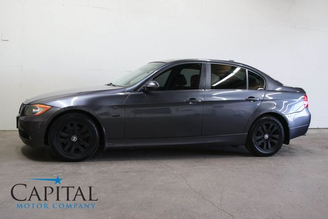 2006 BMW 325xi AWD Sport Sedan w/Moonroof Blacked Out Wheels, Tint & Heated Seats in Eau Claire, Wisconsin 54703