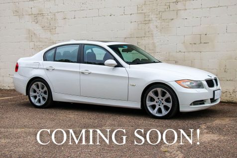 2006 BMW 330xi xDrive AWD with Sport Package, Heated Seats, Moonroof, Logic7 Audio & 18