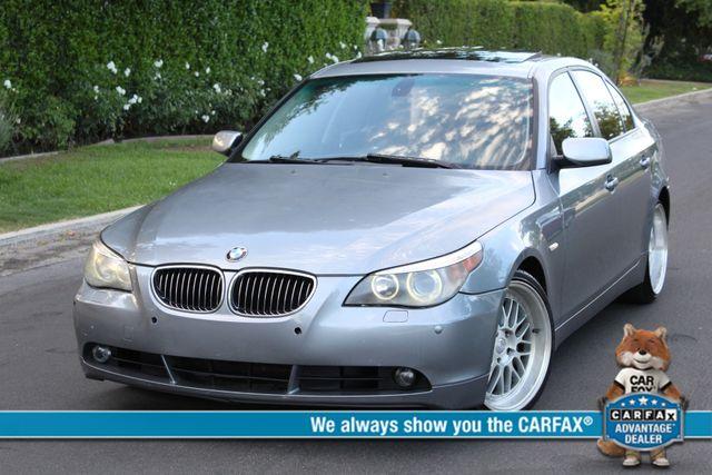 2006 BMW 530i SPORTS PKG NAVIGATION XENON SERVICE RECORDS
