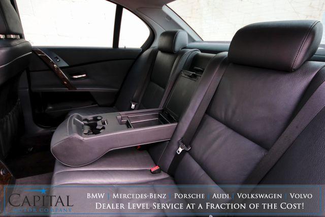 2006 BMW 530xi xDrive AWD Sport Sedan w/Blacked Out Wheels, Heated Seats, Moonroof, Xenon Lights & Hi-Fi Audio in Eau Claire, Wisconsin 54703