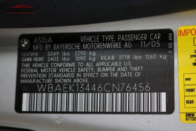 2006 BMW 650Ci Merrillville, Indiana 49