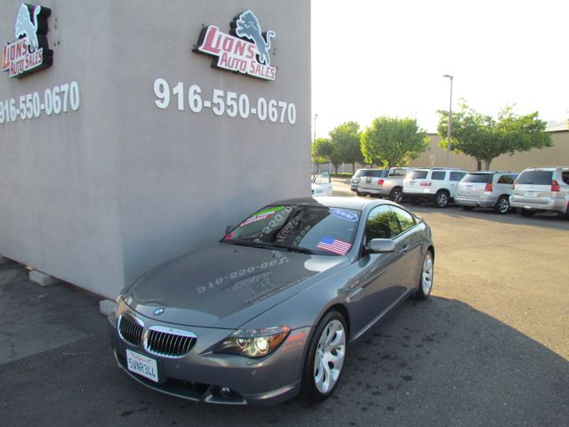 2006 BMW 650Ci Low Miles 85K Night Vision in Sacramento, CA 95825