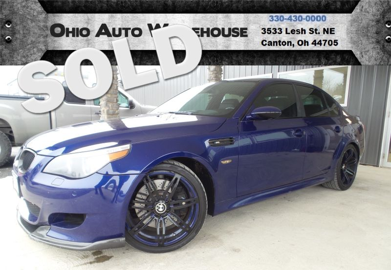 2006 BMW M5 V10 Navigation Sunroof Clean Carfax We Finance   Canton, Ohio   Ohio Auto Warehouse LLC in Canton Ohio
