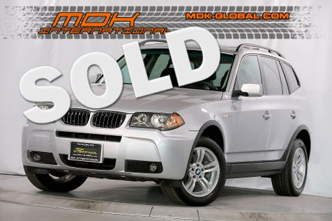 2006 BMW X3 3.0i - Aerodynamic pkg - Only 82K miles  in Los Angeles