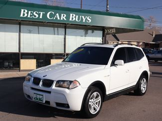 2006 BMW X3 3.0i 3.0i in Englewood, CO 80113