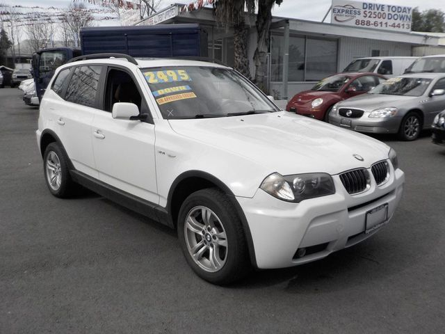 2006 BMW X3 3.0i 3.0I