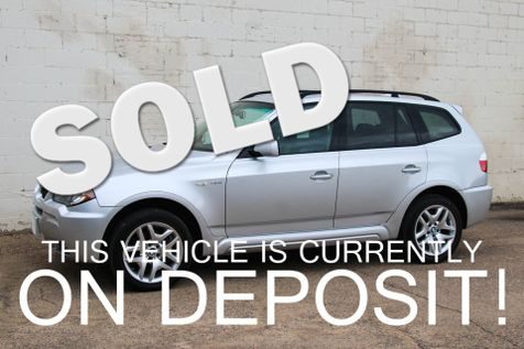 2006 BMW X3 3.0i xDrive AWD M-Sport Crossover w/Heated Seats, Panoramic Roof, Xenons & 18-In Wheels in Eau Claire