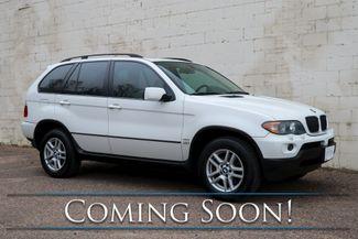 2006 BMW X5 xDrive AWD Luxury SUV w/Heated Seats, Panoramic Moonroof, Premium Pkg & Hi-Fi Audio in Eau Claire, Wisconsin 54703
