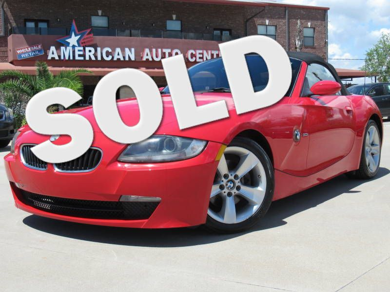 2006 BMW Z4 3.0i    Houston, TX   American Auto Centers in Houston TX