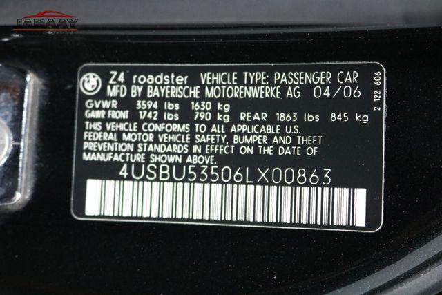 2006 BMW Z4 3.0si Merrillville, Indiana 45
