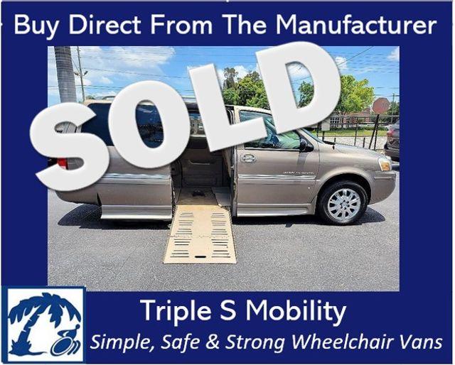 2006 Buick Terraza Cxl Wheelchair Van Handicap Ramp Van