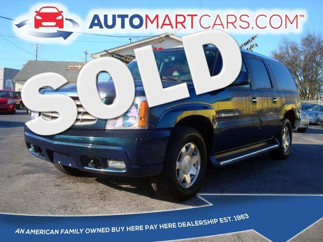 2006 Cadillac Escalade ESV  | Nashville, Tennessee | Auto Mart Used Cars Inc. in Nashville Tennessee